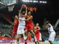 Basketbola spēles moments
